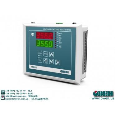 Промышленный контроллер для регулировки температуры ОВЕН ТРМ32