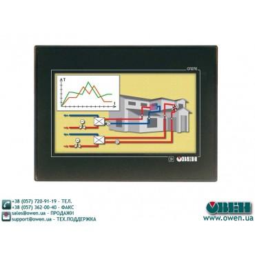 СП270. Графическая панель оператора с сенсорным управлением