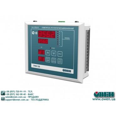 Универсальный измеритель-регулятор восьмиканальный ОВЕН ТРМ138