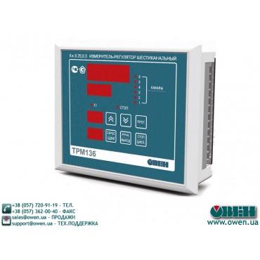 Измеритель-регулятор универсальный шестиканальный ОВЕН ТРМ136