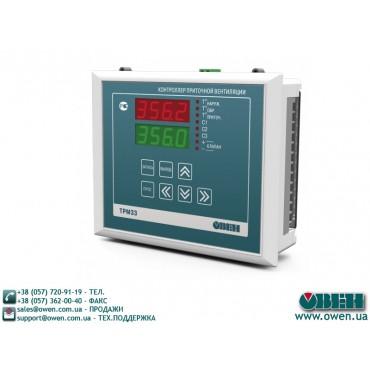 Контроллер для регулирования температуры ОВЕН ТРМ33
