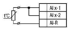 Подключение резистивного датчика по двухпроводной схеме