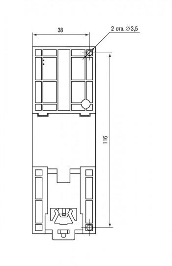 Установочные размеры МВ210