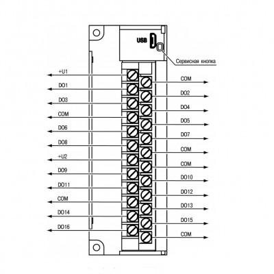 Загальна схема підключення МУ210-410