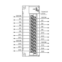 Общая схема подключения МВ210-202