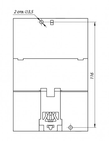 Установочные размеры МВ210-212(214)