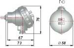 Стандартная металлическая коммутационная головка ОВЕН ДТС