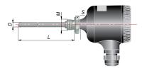 ДТПХ105 термопары с выходным сигналом 4…20 мА