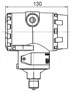 Конструктивне виконання датчика ПД200-ДІ моделі 315