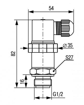 Конструктивное исполнение ПД100И модели 121