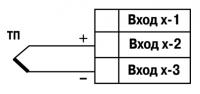 Схема подключения ТП