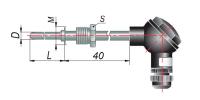 ДТСхх5. Термосопротивления с коммутационной головкой
