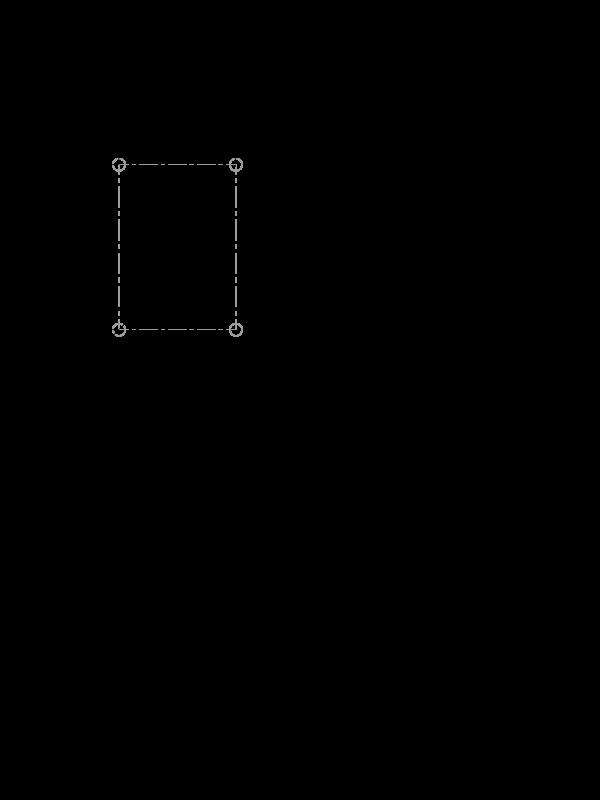 Габаритні розміри ОВЕН ПКГ100-Н5.NH3.3
