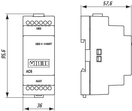 Схема подключения АС6
