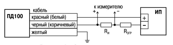 Схема подключения ПД100И-167