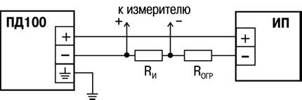 Схема подключения ПД100